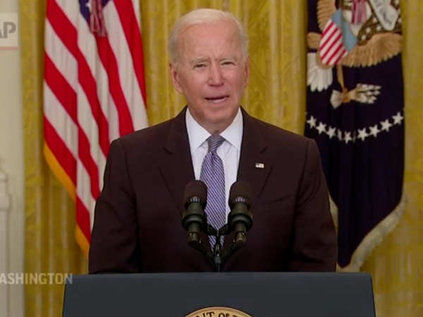 Joe Biden...